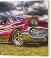 1958 Chevrolet Impala Wood Print by Phil 'motography' Clark