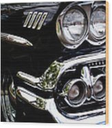 1958 Chevy Bel Air Wood Print