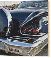1958 Chevy Impala Rear Quater Wood Print
