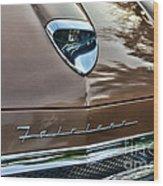 1958 Ford Fairlane 500 Skyliner Wood Print
