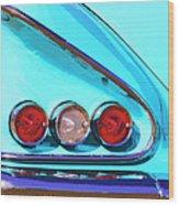 1958 Impala Palm Springs Wood Print