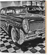1958 Lincoln Continental Mk IIi Wood Print
