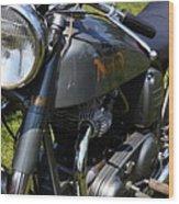 1958 Norton Dominator Wood Print