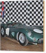 1959 Aston Martin Dbr1 Wood Print
