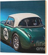 1959 Austin Healey 3000 Mk1 Wood Print