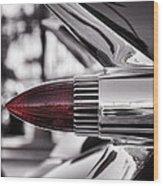 1959 Cadillac Eldorado Tailight Wood Print