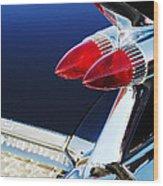 1959 Cadillac Eldorado Taillight -075c Wood Print
