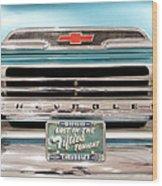 1959 Chevrolet Apache 012315 Wood Print