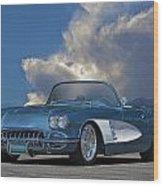 1959 Corvette Roadster 1 Wood Print