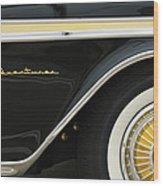 1959 Desoto Adventurer Convertible Wheel Wood Print