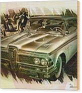 1959 Edsel Wood Print