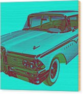 1959 Edsel Ford Ranger Modern Popart Wood Print