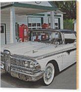 1959 Edsel Ranger Wood Print by Paul Kuras
