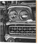 1959 Ford Fairlane 500 Wood Print