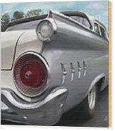 1959 Ford Galaxie Wood Print