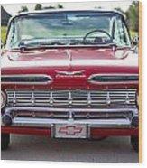 1959 Impala Hardtop Sport Coupe Wood Print