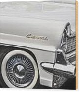 1959 Lincoln Continental Wood Print