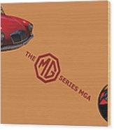 1959 Mg Series Mga Wood Print