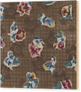French Fabrics First Half Of The Nineteenth Century 1800 Wood Print