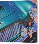1960 Aston Martin Db4 Series II Grille Wood Print