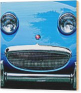 1960 Austin-healey Sprite Wood Print by Jill Reger