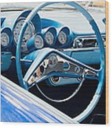 1960 Chevrolet Bel Air 4 012315 Wood Print