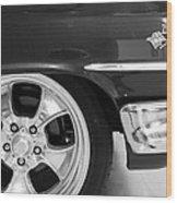 1960 Chevrolet Bel Air Bw2 012315 Wood Print