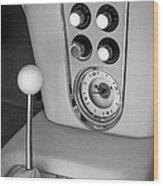 1960 Chevrolet Corvette Instruments Wood Print by Jill Reger