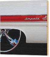 1960 Chevrolet Impala Wood Print by David Patterson