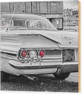 1960 Chevy Impala   7d08509 Wood Print