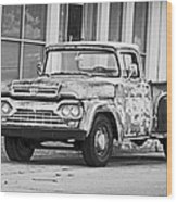 1960 Ford F-250 Wood Print