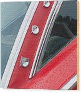 1960 Ford Galaxie Starliner Wood Print