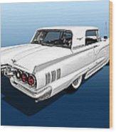 1960 Ford Thunderbird Wood Print
