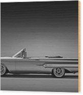 1960 Impala Convertible Coupe Wood Print