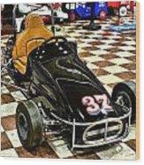 1960 Kris Kraft Quarter Midget Wood Print