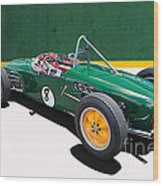 1960 Lotus 18 Fj Wood Print