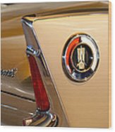 1960 Plymouth Fury Convertible Taillight And Emblem Wood Print