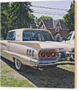 1960 Thunderbird 2 Wood Print