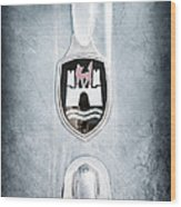 1960 Volkswagen Vw Emblem Wood Print