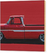 1960's Chevy C10 Pickup Wood Print