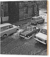1960's Classic Cars    Ref-252 Wood Print