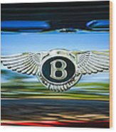 1961 Bentley S2 Continental - Flying Spur - Emblem Wood Print