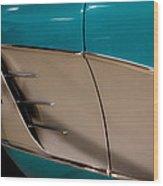 1961 Chevrolet Corvette Wood Print
