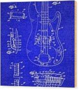 1961 Fender Guitar Wood Print