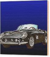 1961 Ferrari 250 G T California Wood Print