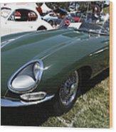 1961 Jaguar Xke Roadster 5d23323 Wood Print