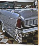 1961 Lincoln Continental Taillight Wood Print