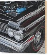 1961 Pontiac Catalina 421 Wood Print