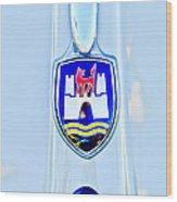 1961 Volkswagen Vw Emblem Wood Print