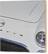 1962 Chevrolet Corvette Convertible Wood Print